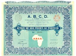 A. B. C. D. J. Aubert & Cie, Porto-Novo (Dahomey) - Africa