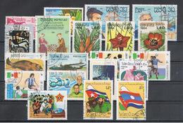 LAOS:  1959/89   VARI  -   LOTTICINO  20  VAL. US. -  MICHEL  91//1147 - Laos