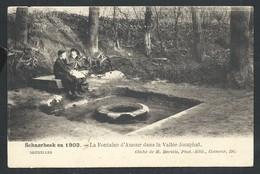 +++ CPA - SCHAERBEEK En 1903 - SCHAARBEEK - Fontaine D'Amour Dans La Vallée Josaphat    // - Schaarbeek - Schaerbeek