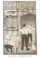 """PUB  """" BELLE JARDINIERE   """"  Par BENJAMIN RABIER  1908 ( 14 ) - Publicité"""
