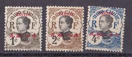 ⭐ Canton - YT N° 50 à 52 ** - Neuf Sans Charnière - 1908 ⭐ - Unused Stamps