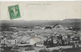 30, Gard, CALVISSON, Vue Générale, Scan Recto-Verso - Francia