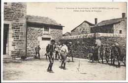 43. SAINT JEURES : Colonie De Vacances De Saint Nizier , Début D'une Partie De Drapeau - France