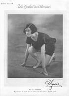 ATHLETISME - G. LENOIR Recordwoman Du Monde Des 500m, 800met 880 Yards - FRED TOOTELL Champion Du Lancer Du Marteau - Leichtathletik