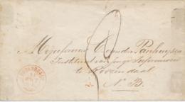 Nederland - 1866 - Takjestempel OUDENBOSCH Op Envelop Naar Rozendaal - Nederland