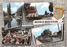 21-BRAZEY-EN-PLAINE- MULTIVUES - Autres Communes