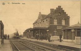 Galmaarden - Galmaerden :statie ( Uitg. Drukkerij Weverbergh - Watthée -- NELS Kaart ) Stoom Trein - Train A Vapeur - Galmaarden
