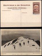 Bolivia 1943 CEFILCO TE 9 Minería. Cochabamba, Cumbres Del Tunari, 5.100 Metros Sobre El Nivel Del Mar. Escalada. - Bolivia