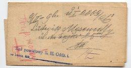 Poland Ukraine Lwow Postage Due - 1919-1939 Republic