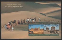 INDIA -2018 MNH MINI SHEET  HOLIDAY DESTINATIONS IN INDIA / TOURISM - India