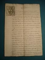 1741  REPUBBLICA LIGURE CARTA BOLLATA DI 10 SOLDI EMESSA A SAVONA DOCUMENTO SCRITTO SU 6 FACCIATE - Old Paper