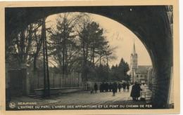 CPA - Belgique - Beauraing - Entrée Du Parc - Beauraing