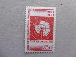 TAAF   P 39 * *   1961/1971   TRAITE DE L ANTARCTIQUE - Neufs