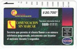 COLOMBIA A-121 Magnetic Telecom - Used - Kolumbien
