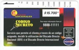 COLOMBIA A-122 Magnetic Telecom - Used - Kolumbien