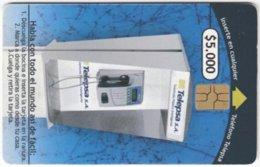 COLOMBIA A-131 Chip Telepsa - Communication, Phone Booth - Used - Kolumbien