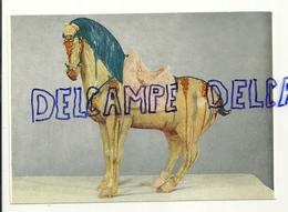 Musée De Mariemont. Cheval En Terre Cuite Polychrome. Chine, Dynastie Des T'ang - Musées