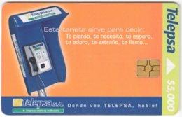COLOMBIA A-133 Chip Telepsa - Communication, Phone Booth - Used - Kolumbien
