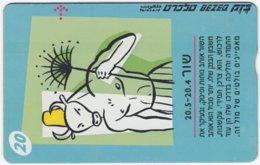 ISRAEL B-842 Hologram Bezeq - Signs Of Zodiac, Taurus - 907E - Used - Israel
