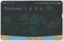 ISRAEL B-851 Hologram Bezeq - 911E - Used - Israel