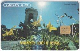 MEXICO A-660 Chip Telmex - Plant, Flower - Used - Mexique