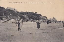 85 / NOIRMOUTIER RETOUR DE LA PECHE AUX CREVETTES ET CHALETS DE LA CLAIRE - Ile De Noirmoutier