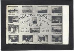 CPA Serbie Serbia Non Circulé Abattoirs De Belgrade Carte Photo RPPC - Serbia