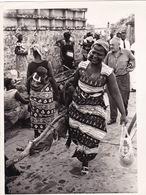 AFRIQUE- CONGO- DES FEMMES CONGOLAISES - RÉAL PHOTO ORIGINALE-DIM 15x20,5 CM - Africa