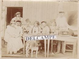 PROSTITUTION GUELMONS ( Maroc ) 1916 - Photo Originale De Soldats D'Orient Au '' Boxon '' .... - Photos