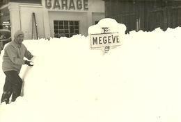 (74 HAUTE SAVOIE  )( MEGEVE )( GARAGE)( AUTOMOBILES ) - Lieux