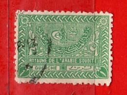 (Us.3) ARABIA SAUDITA °-1934-43 - Série Courante .Yvert. 115 . Usato.  Vedi Descrizione - Arabia Saudita