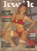 DE NIEUWE KWIK - N° 1434- Okt 1989 - Artikels - Humor - Erotiek Met Kwik Meisje Van De Week & Kwik Poster - Revues & Journaux