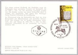 1965 WIPA 1965 - FDC Karte (ANK 1215, Mi 1185) - FDC
