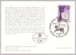 1965 WIPA 1965 - FDC Karte (ANK 1216, Mi 1186) - FDC