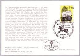 1965 WIPA 1965 - FDC Karte (ANK 1217, Mi 1187) - FDC