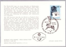 1965 WIPA 1965 - FDC Karte (ANK 1218, Mi 1188) - FDC