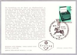 1965 WIPA 1965 - FDC Karte (ANK 1219, Mi 1189) - FDC
