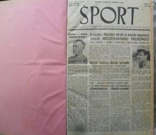 SPORT NDH NOVINE KOMPLETNA 1942 GODINA(FALI SAMO BROJ 33), UVEZANO 50 BROJEVA NDH NEWS COMPLETE 1942 YEAR, RRARE - Libros