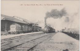66 - La Gare D'ILLE - Le Train De Vernet -les- Bains - France