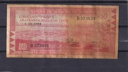 Burundi 50 Fr 1964 Rare - Billets
