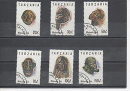 Tanzanie - Art Makondé - Sculptures : Masques Et Têtes - Patrimoine - Folklopre - Coutume - - Tanzanie (1964-...)