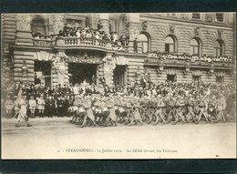 CPA - STRASBOURG - 14 Juillet 1919 - Le Défilé Devant Les Tribunes, Très Animé - War 1914-18