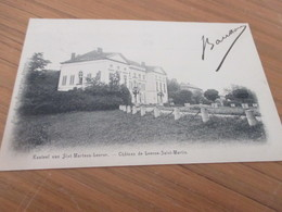 Kasteel Van Sint Martens Leerne, Chateau  De Leerne Saint Martin - Deinze