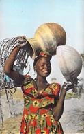 Afrique Noire Départ Pour La Fontaine (sourire Africain Robe) - Editions PRINTANIA 2838  *PRIX FIXE - Non Classés