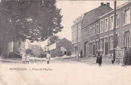 BONCELLES / PLACE DE L EGLISE / RARE + - Seraing