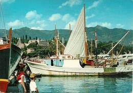 Santa Margherita Ligure (Genova) Peschereccio In Porto, Fishing Boat In The Harbour, Bateau Dans Le Port - Genova (Genua)