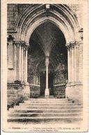 L35B187 - Candes - L'Eglise, Le Porche  - R.Dorange  N°14 - France
