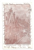 Old Greenock Series Broad Close Renfrewshire Used 1903 GREENOCK POSTMARK - Renfrewshire