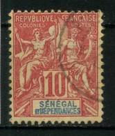 SENEGAL    N° Y&T  22 (o) - Oblitérés