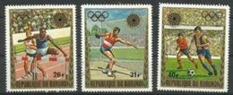 Burundi - 1972 Olympics MH*   SG 754-6  Sc C159-61 - Burundi
